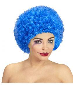 Billige blå afroparyk