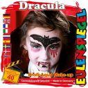 Dracula ansigtsmaling til halloween.