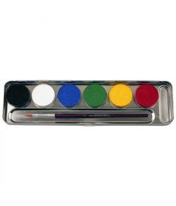 Palette, 6 farver fra Eulenspiegel.