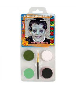 Frankenstein sminkepalette fra Eulenspiegel.