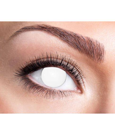 Blind hvid linser