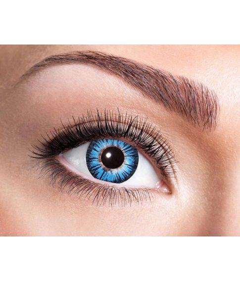 Linse Big Eye, blå