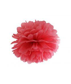 Pompom 35 cm Rød