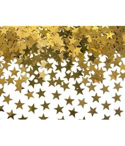 Stjernekonfetti Guld 30g