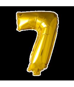 Folie ballon guld 41 cm 7