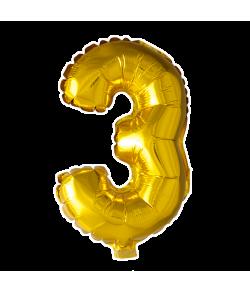 Folie ballon guld 41 cm 3