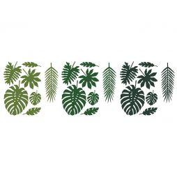 Tropiske blade 21 stk