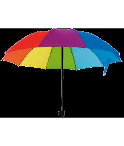 Paraply regnbue 1 m