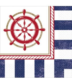 Anker servietter, 24,7 x 24,7 cm