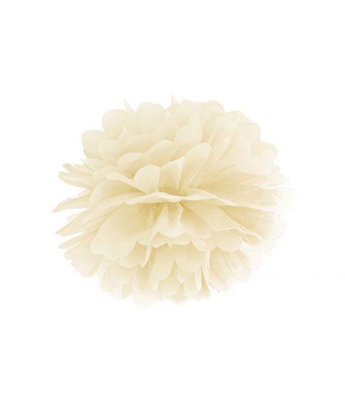 Pompom Creme 35 cm