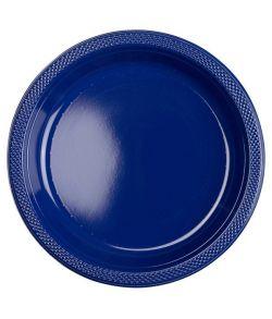 Mørkeblå Tallerkner 22,8 cm