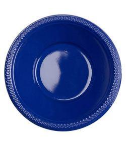 Navy Blå plastik skåle 355 ml