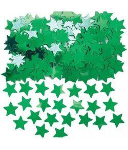 Grønt stjernekonfetti