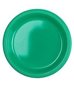 Grønne tallerkner 22,8 cm