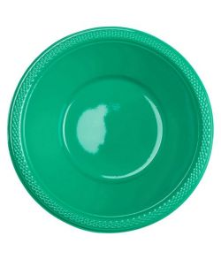 Grønne plast skåle, 355 ml.