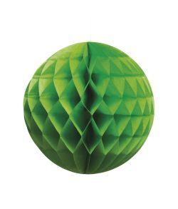 Grøn papir kugle