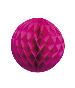 Pink papir kugle