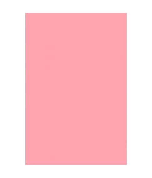 Pink plastik dug, 137 x 274 cm
