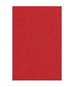 Rød papir dug, 137 x 274 cm