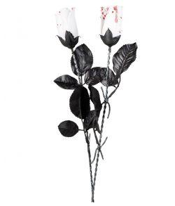 Blodig rose, hvid