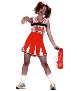 Zombie Cheerleader kostume til halloween