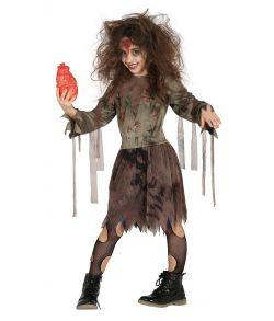 Zombie kostume til piger