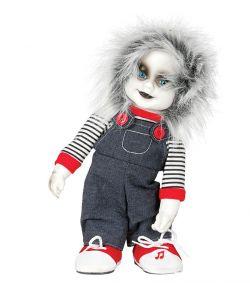 Zombie dukke med lyd