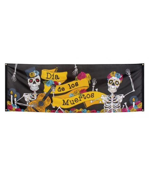 De Dødes Dag banner 74x220 cm