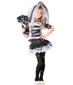 Halloween brud kostume