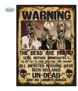 Zombie Rising Warning