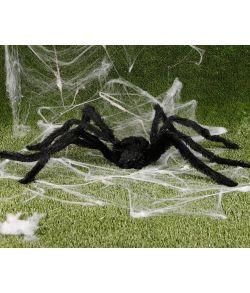 Stor edderkop med lys og bevægelse.90 cm