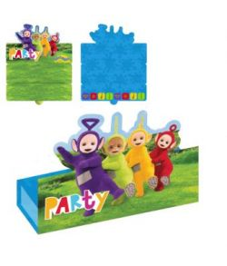 Teletubbies invitationer 8 stk