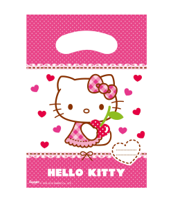 Hello Kitty poser 6 stk