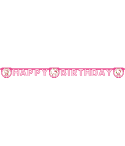 Hello Kitty Happy B. banner