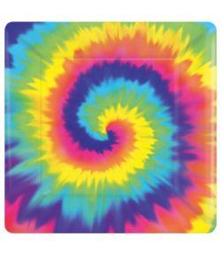 Hippie paptallerkner 17,8 cm