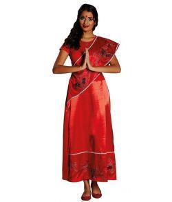 Indisk dame kostume