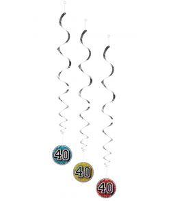 Festpynt til 40 år fødselsdag