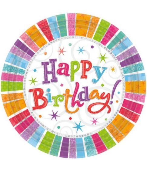 Tallerkner Happy Birthday
