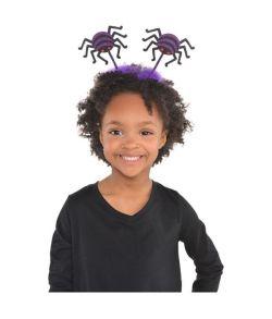 Edderkop hårbøjle til halloween.