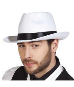 Mafia hat hvid