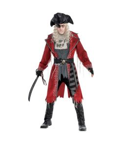 Zombie Pirate Captain kostume