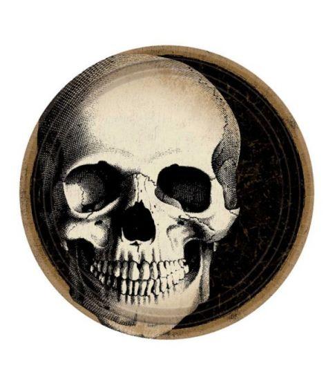 Boneyard tallerkner, 23 cm