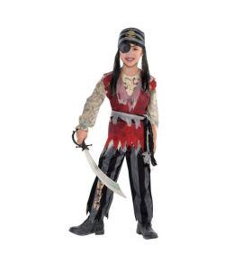 Halloween pirat kostume