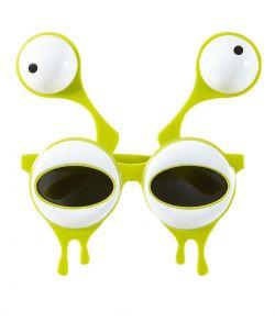 Alien briller med dobbelt øjne