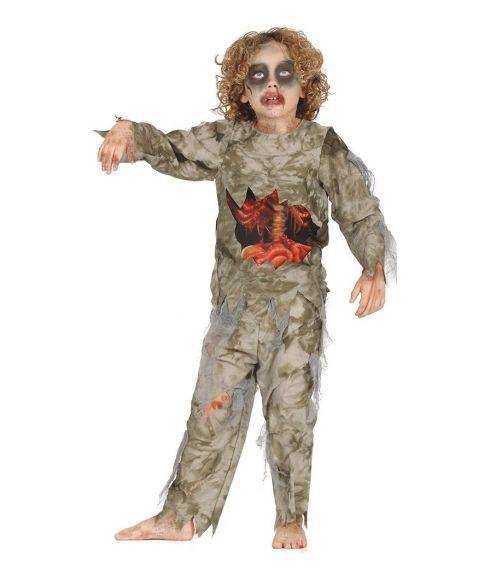 Billigt Zombie kostume til børn. 8e45c377962d7