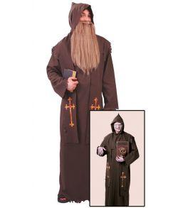 Død munk kostume til voksne