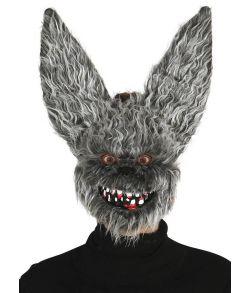 Uhyggelig flagermus maske til voksne