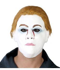 Hvid mand maske