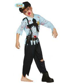 Zombie Politi kostume