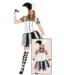 Harlequin Woman kostume